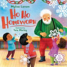 Cover art for the book Ho Ho Homework